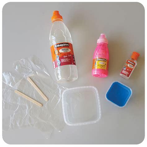 ingredient pate a comment fabriquer du slime avec de la colle facilement