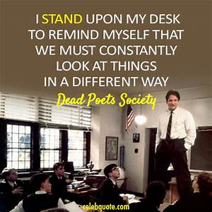 Dead Poets Society – A Tribute to Robin Williams ← UNC ...