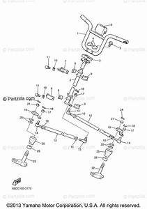 Yamaha Snowmobile 2011 Oem Parts Diagram For Steering