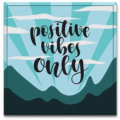 Azulejo Quadro Vibes Positive Imagens Mais