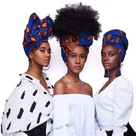 diy  latest african ankara head wrap styles