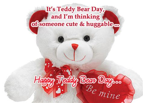 teddy bear day  quotes sayings  images