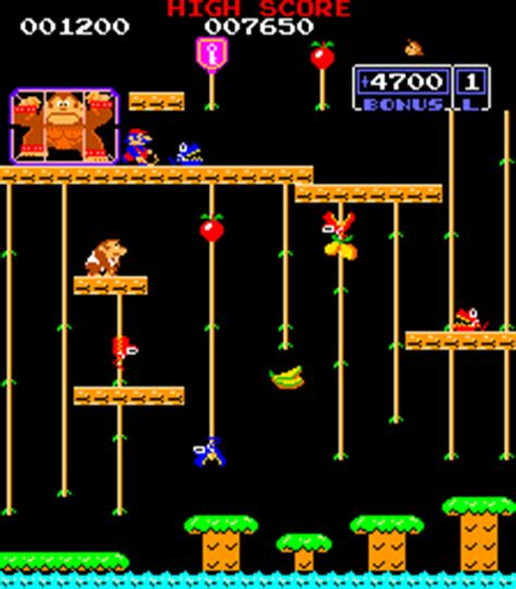 retro games wikipedia kong jr