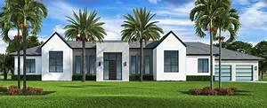 Plan, 65623bs, Modern, Florida, Home, Plan, With, Pool, Courtyard