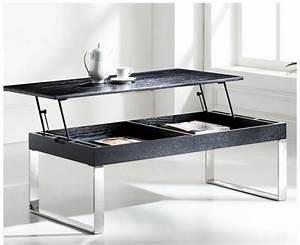 Table Basse Reglable Hauteur : table basse hauteur reglable ~ Carolinahurricanesstore.com Idées de Décoration