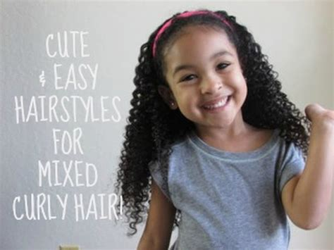 Easy Hairstyles For Mixed by And Easy Hairstyles For Mixed Curly Hair
