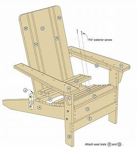 Folding Adirondack Chair Plans - Woodwork City Free