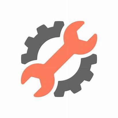 Vector Repair Mechanic Symbol Industry Service Control