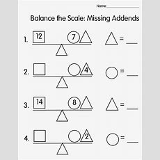 Balance Scale Worksheets For Children  Activity Shelter