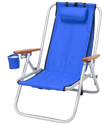 products wearever hi back aluminum backpack chair at