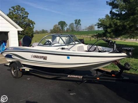 Stratos Boats Reviews by 2006 Stratos 486 Sf Ski N Fish Glasgow Kentucky Boats