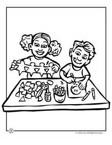 Arts and Crafts Coloring Pages Printable