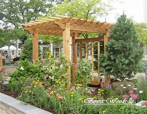 Pergola Design Idea Picture Popular Tiered Serveware Stand