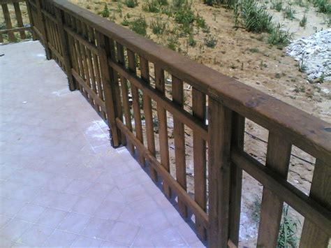 cool ringhiera legno esterno vv pineglen