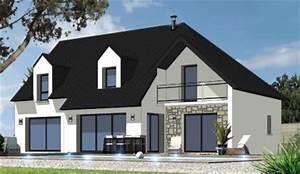 Nos dernieres creations constructions du belon for Plan maison demi etage 11 nos derniares creations constructions du belon