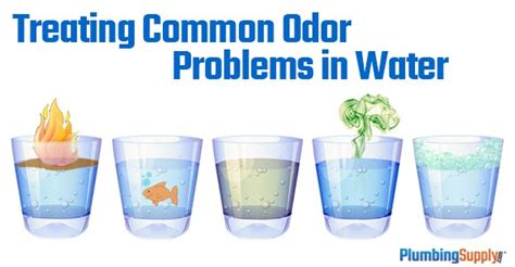 treating common odor problems   water