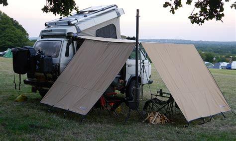 arb wind break side campervanculturecom