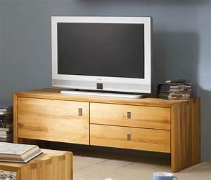 Massivholz TV Lowboard TV Bank Kommode Kernbuche Massiv Holz