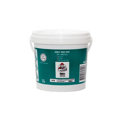 Tile Adhesive Remover Bunnings by Davco 1l Grey One Pot Premixed Tile Adhesive Bunnings