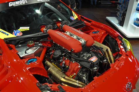 458 Italia Engine by Image Tuerck S Toyota 86 With 458 Italia