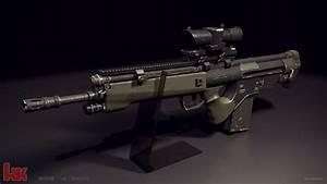 Hk G3 BK concept rifle by STUNNA-K on DeviantArt  G3