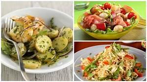 Leichte Salate Rezepte : 7 leichte salate die man an hei en tagen mit zur arbeit nehmen kann ~ Frokenaadalensverden.com Haus und Dekorationen
