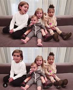Mason, Penelope, Reign Disick & North West in Kris Jenner ...
