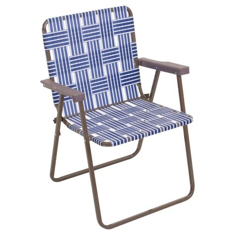 Lawn Chairs At Walmart mainstays web chair navy patio furniture walmart