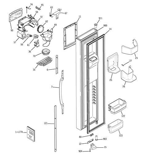 ge refrigerator p series parts model gsslgpabb sears partsdirect