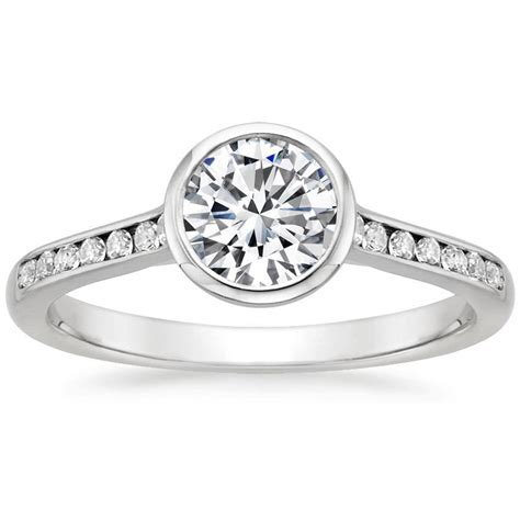 channel engagement rings brilliant earth