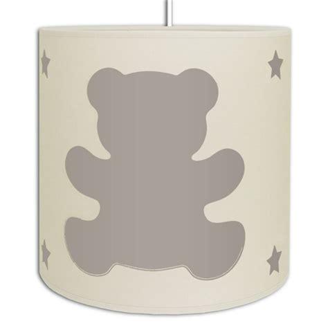 plafonnier chambre fille luminaire ours couleur au choix de la décoration de