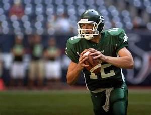 Andrew Luck, quarterback for Stratford High School looks ...