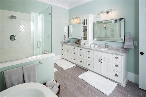 white bathroom cabinet luxury south carolina home features inset shaker cabinets