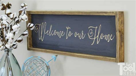 farmhouse sign  tool belt