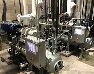 Vfd Conversion 400hp Ammonia Package D H Refrigeration