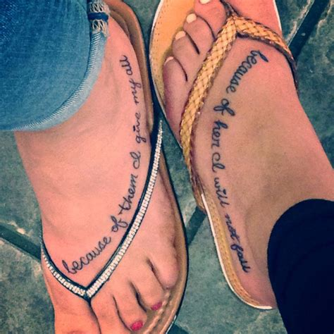 Pretty Mother Daughter Tattoo Designs