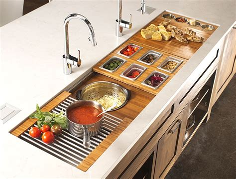 The Galley Sink Workstation-kitchen Design