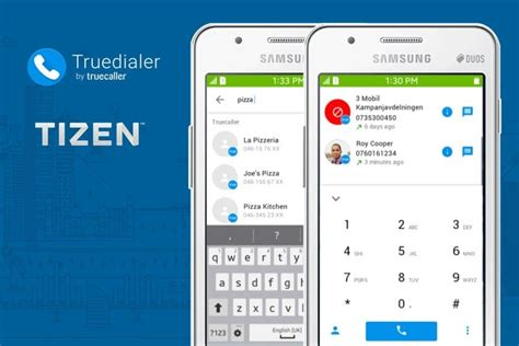 application truecaller and truedialer released for samsung z3 iot gadgets