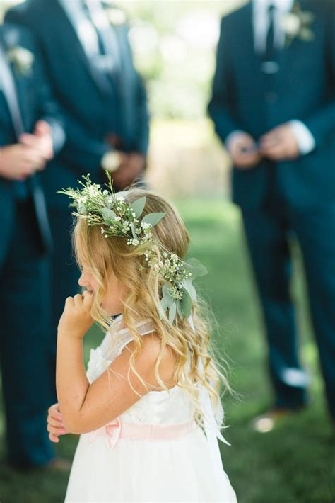 flower girl halo ideas  pinterest flower