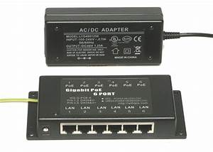 4 6 Or 8 Port Gigabit Power Over Ethernet Passive Poe