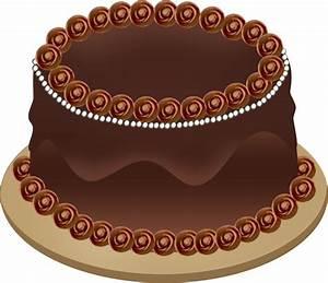 Birthday cake clip art black clip art birthday - Clipartix