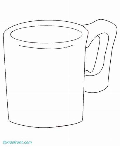 Pages Coloring Coffee Cup Cups Starbucks Mug