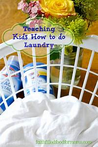 Teaching Kids How To Do Laundry  U2022 Faith Filled Food For Moms