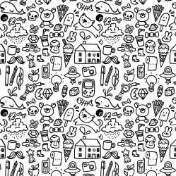 Easy Cute Doodles Patterns