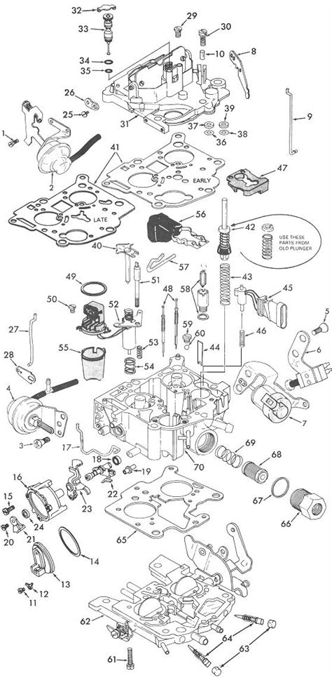 Rochester Exploded View Carburetor Factory