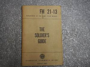 Department Of Army Field Manual Fm 21