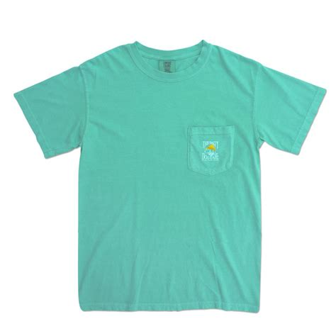 chalky mint comfort colors comfort colors comfort colors 174 sleeve pocket in