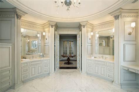 luxury white master bathrooms   love