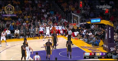 lakers  clippers highlights  youtube