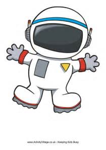 Astronaut Cut Out Printable